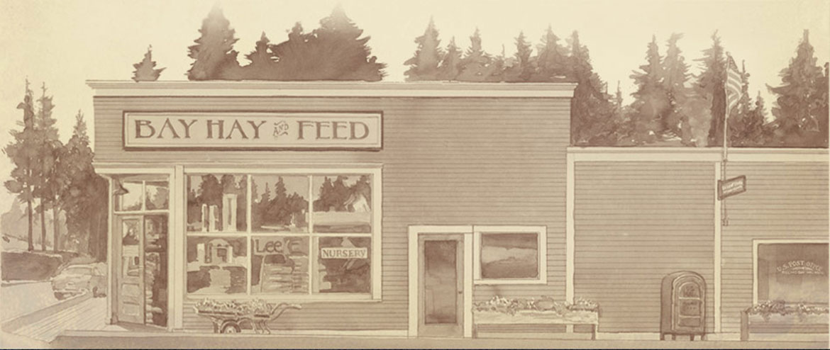Bay Hay & Feed Building